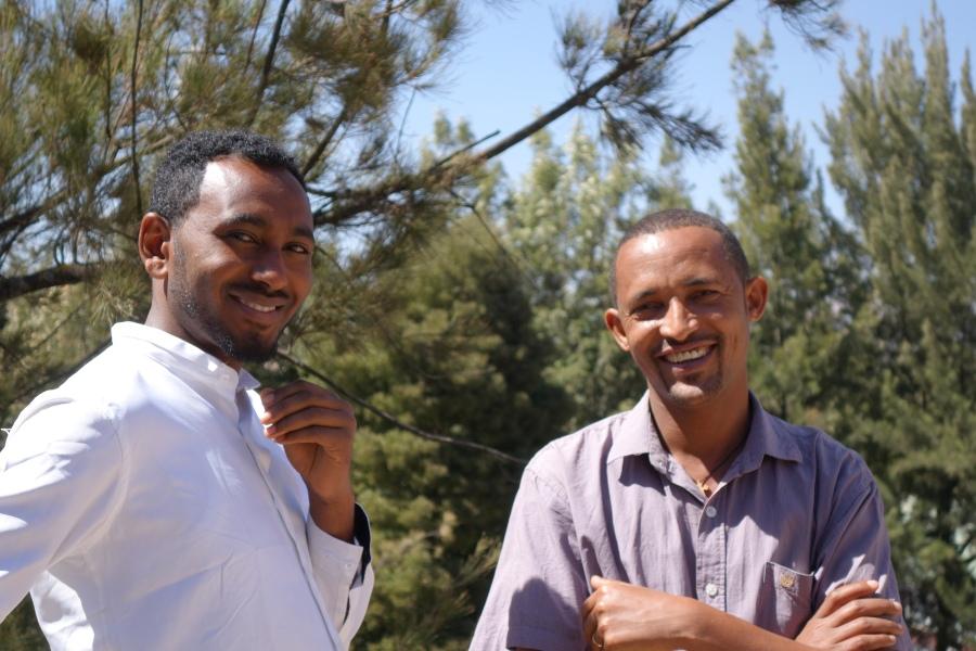 ethiopians smiling